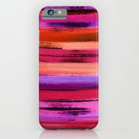 iPhone & iPod Case featuring Watercolour Streak by Amy Sia