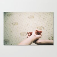 Love Hands Canvas Print