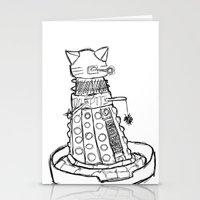 Dalekitty Stationery Cards