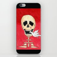 Death eating peace iPhone & iPod Skin