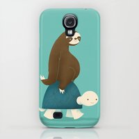 Galaxy S4 Cases featuring Slow Ride by Jay Fleck