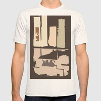 Value Mens Fitted Tee Natural SMALL