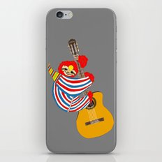 Bowie Sloth Vintage Guitar iPhone & iPod Skin