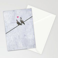 The Lovebirds Stationery Cards