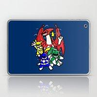 Might Morphing Poke'Rangers Laptop & iPad Skin