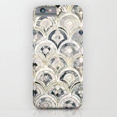 Monochrome Art Deco Marble Tiles iPhone 6s Slim Case