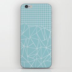 Ab Outline Grid Salty iPhone & iPod Skin