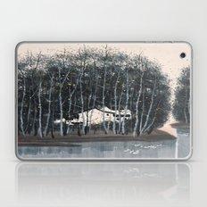 Wu Guanzhong 'Village in the Woods' - 吴冠中 树林村 Laptop & iPad Skin