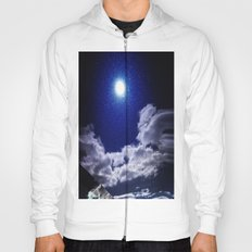 Signs in the Sky Collection I- in its original deep blue Hoody