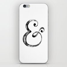 Ampersand Art Print iPhone & iPod Skin