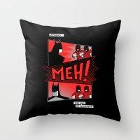 Batmeh Throw Pillow