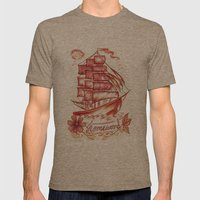 Homeward Bound Mens Fitted Tee Tri-Coffee SMALL