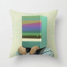 Hiding Throw Pillow