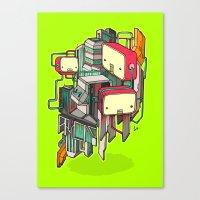 Cubots Canvas Print