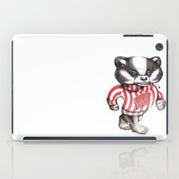Bucky Don't Care iPad Case