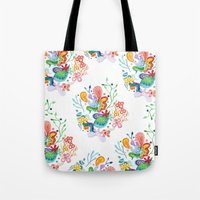 Aquatic Mood Tote Bag