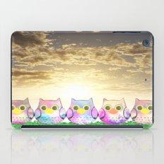 owl-874 iPad Case