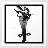 Wrath Art Print