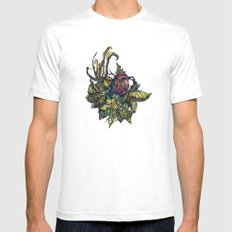 Little Bird Mens Fitted Tee SMALL White