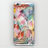 The Earth Laughs In Flowers iPhone & iPod Skin