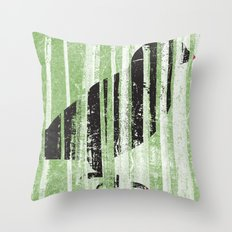 Forrest for the Bird Throw Pillow
