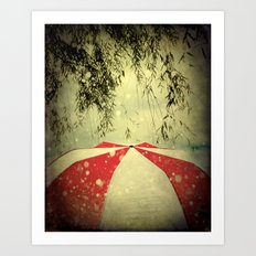 It Can't Rain All The Time Art Print