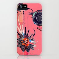 iPhone 5s & iPhone 5 Cases featuring Heroinax Powerful Flower by Heroinax