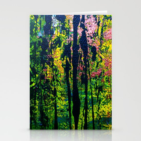 forest light Stationery Card