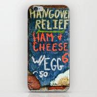 Hangover Relief iPhone & iPod Skin