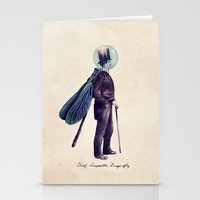Inspector Dragonfly Stationery Cards