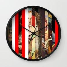 Stars in stripes 6+ Wall Clock