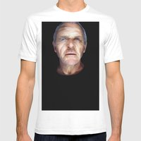 Anthony Hopkins Mens Fitted Tee White SMALL