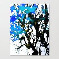 Blue ash Canvas Print