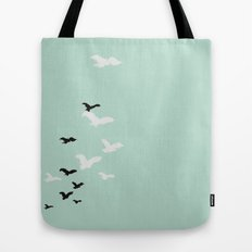 Words are wind Tote Bag