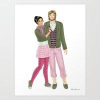 Fashion Journal: Day 30 Art Print
