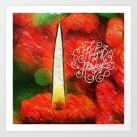 Happy Holdays Art Print
