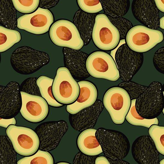Avocado Pattern Art Print