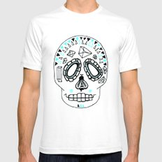BEESKULL SMALL Mens Fitted Tee White