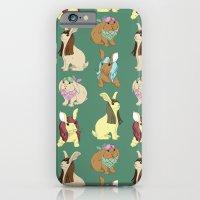 Hares In Wigs iPhone 6 Slim Case