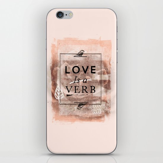 L.o.v.e iPhone & iPod Skin