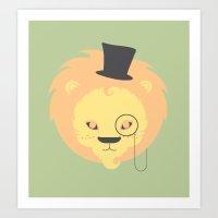 The Dandy-Lion Art Print