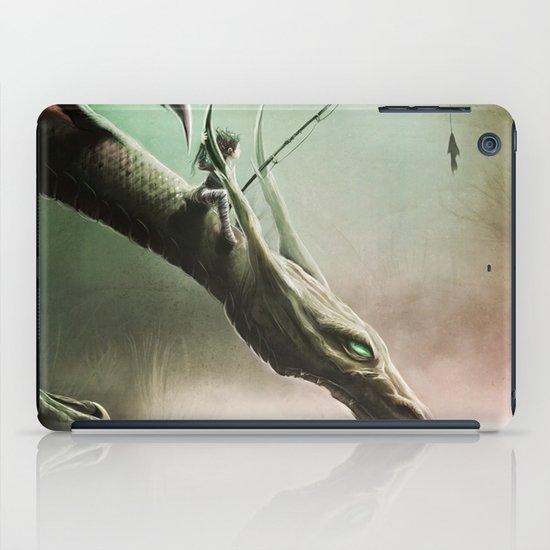 Fishing On The Drinking Dragon iPad Case