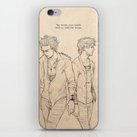 The Ship Which Sail Itself iPhone & iPod Skin