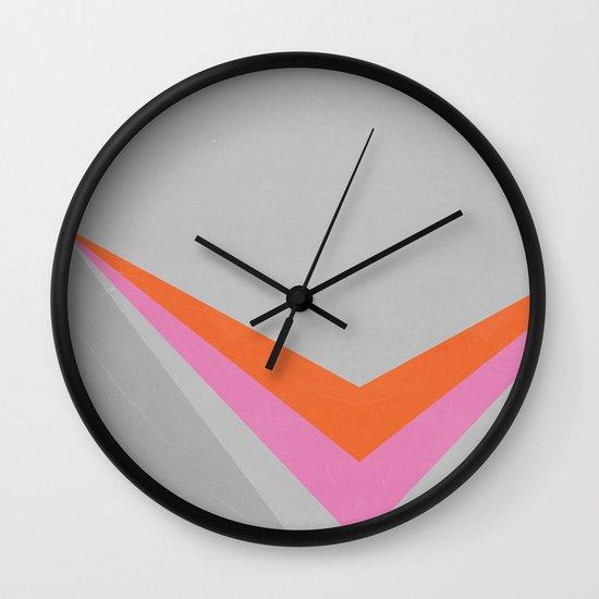 Sun on the wall Wall Clock