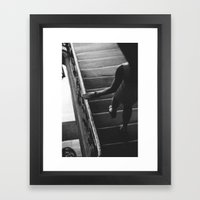 In Passing... Framed Art Print