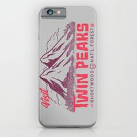 iPhone & iPod Case featuring Visit Twin Peaks by Gimetzco's Damaged Goods