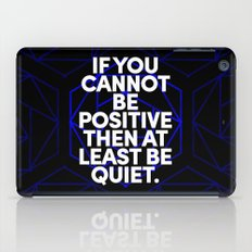 Joel Osteen Quote iPad Case