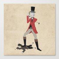 Sir Snobbery Canvas Print