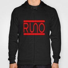 Rue Nothing RUNO Logo Red Hoody