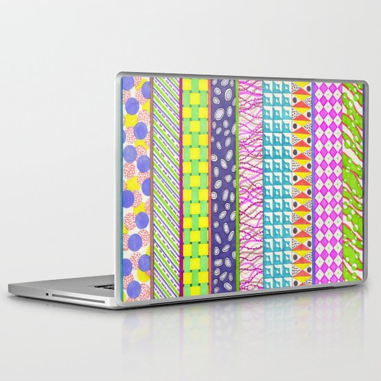 colour tangles Laptop & iPad Skin